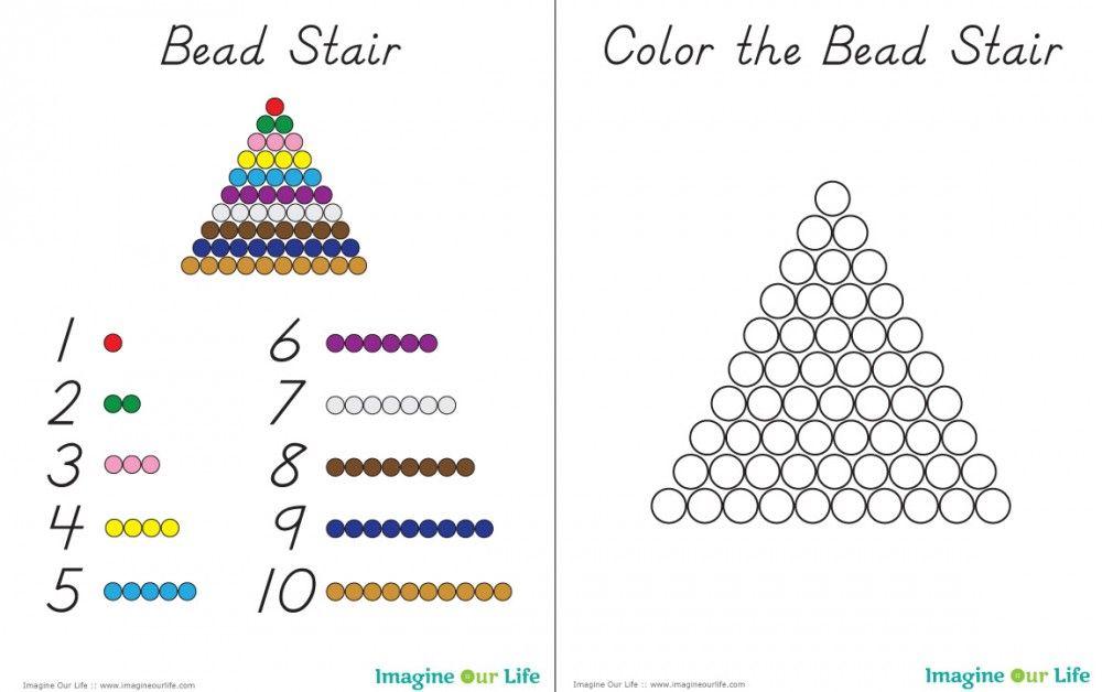 Diy Montessori Math Beads Montessori Math Montessori Elementary Montessori Free montessori golden beads worksheets