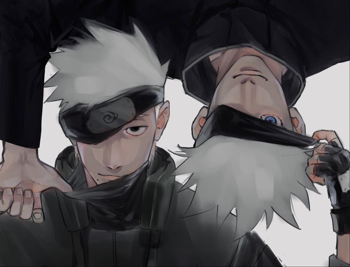 Kakashi Hatake Gojo Satoru Naruto Comic Anime Crossover Kakashi Hatake