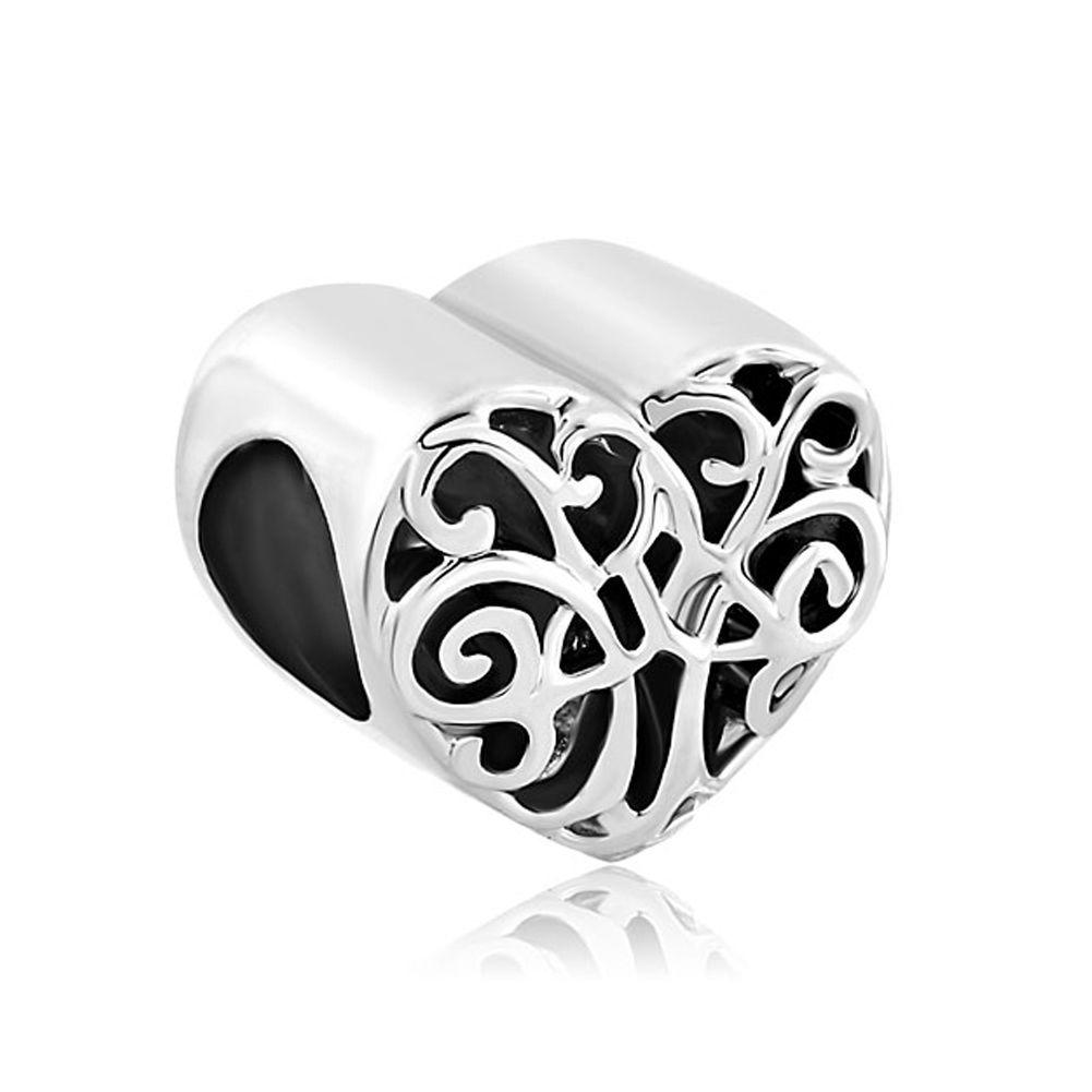 Charms beads heart filigree irish charm triquetra celtic knot charms beads heart filigree irish charm triquetra celtic knot family tree of life image buycottarizona Gallery