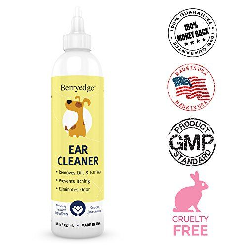 Dog Ear Cleaner Best Natural Solution For Dogs Cats Https