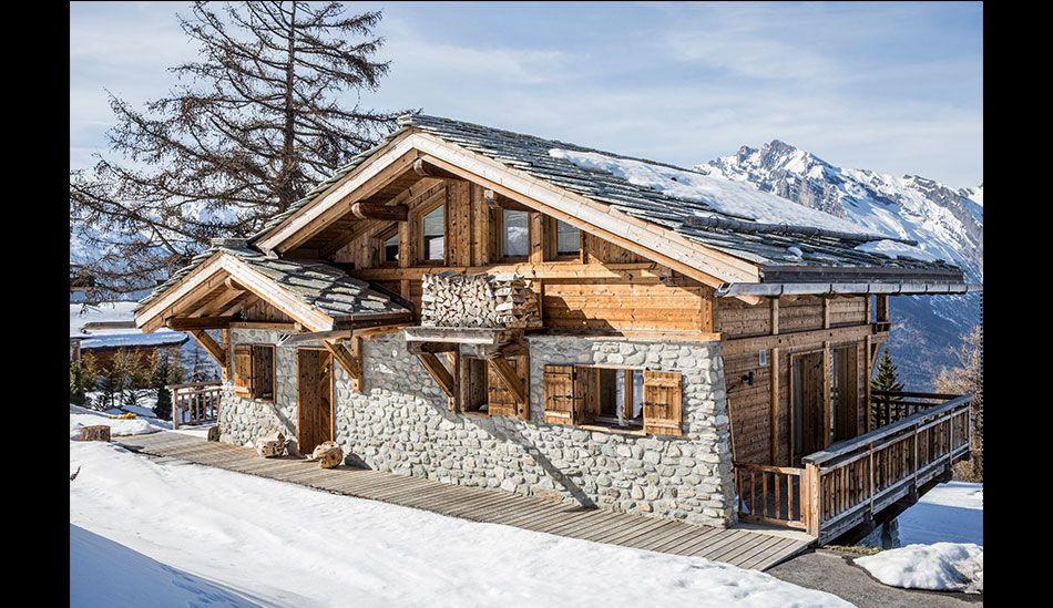 Photo alpin chalet travel pinterest h tten for Chalet haus bauen