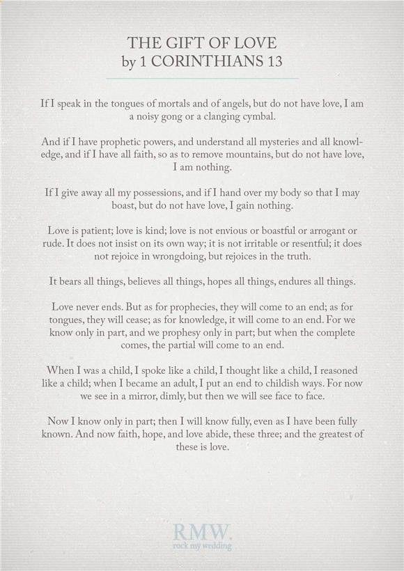 45 Romantic Wedding Readings For Your Wedding Ceremony Events Wedding Ceremony Readings Wedding Readings Wedding Scripture