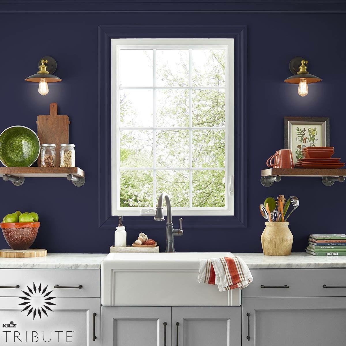 Contrasting Kitchen   Kilz, Interior, Kitchen paint