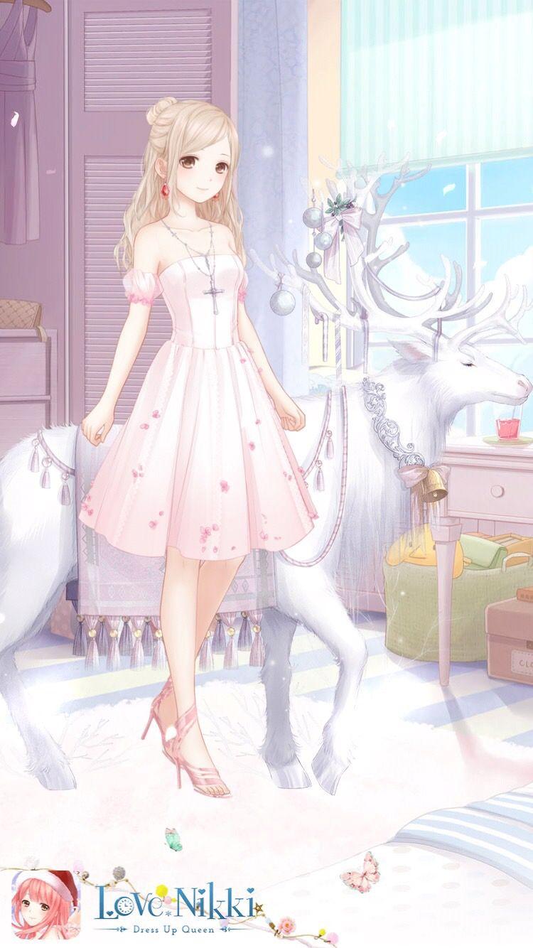 Love Nikki Dress Up Queen Gadis Animasi Gaun Putri Desain Karakter