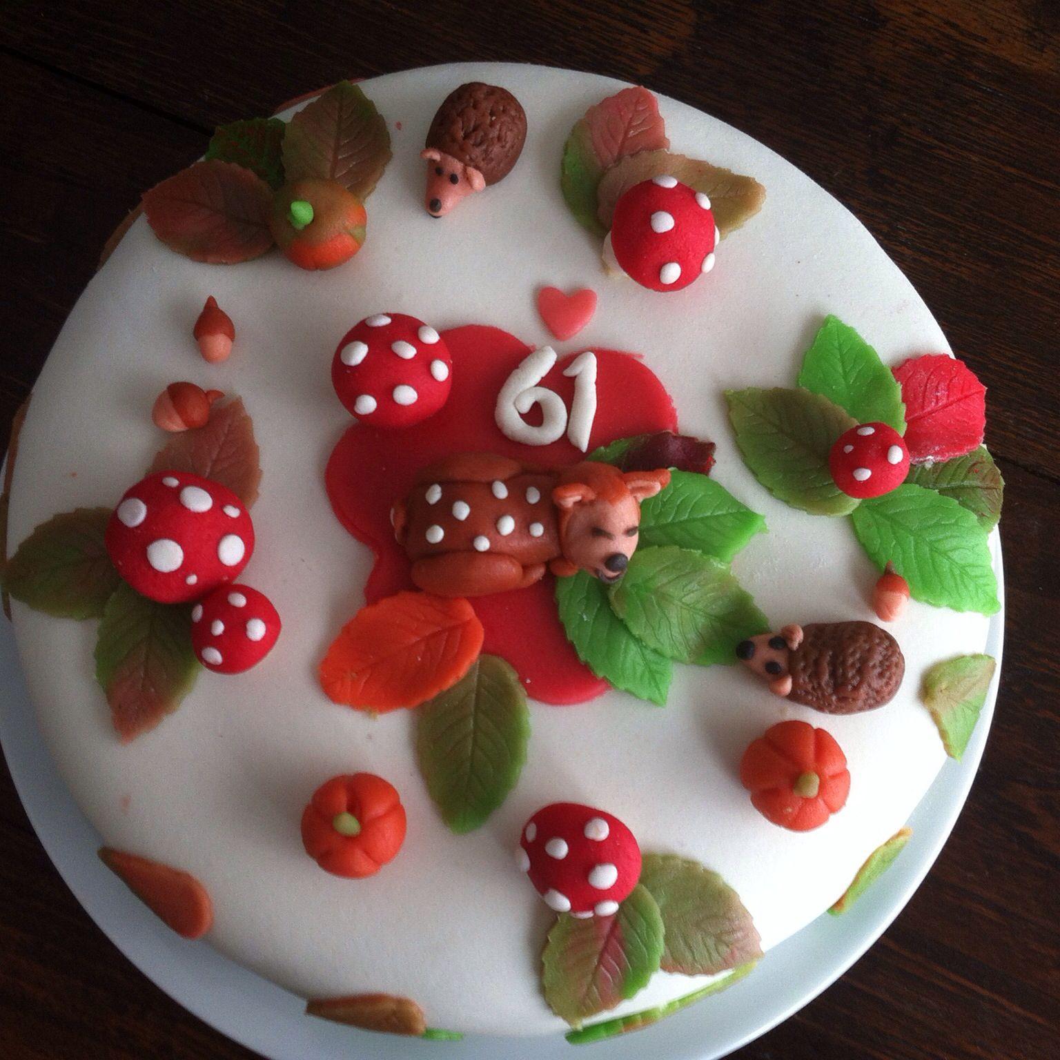 autumn cake ❤️