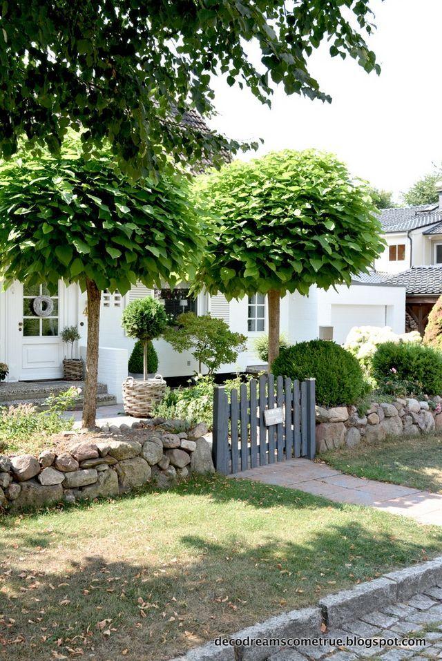 Garten impressionen eingang dreams come true for Minimalistischer vorgarten
