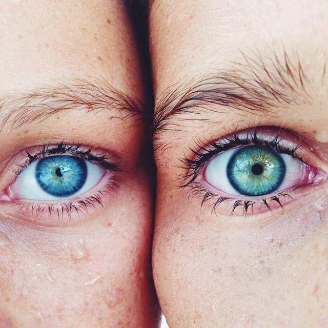 Natural Body Art Of Eye Color