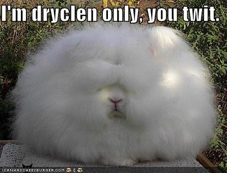 Oooohh!  Fluffy bunny!