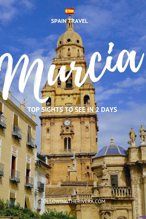 Top things to do in Murcia in a weekend. Take a trip to  #murcia in south-eastern #spain and discover that there's more to this destination than just the #beach  #weekendtravel #spaintravel #europetravel #travel #traveltips #traveldestinations #travelideas #travelersnotebook #traveladvice #traveladviceandtips #traveltipsforeveryone