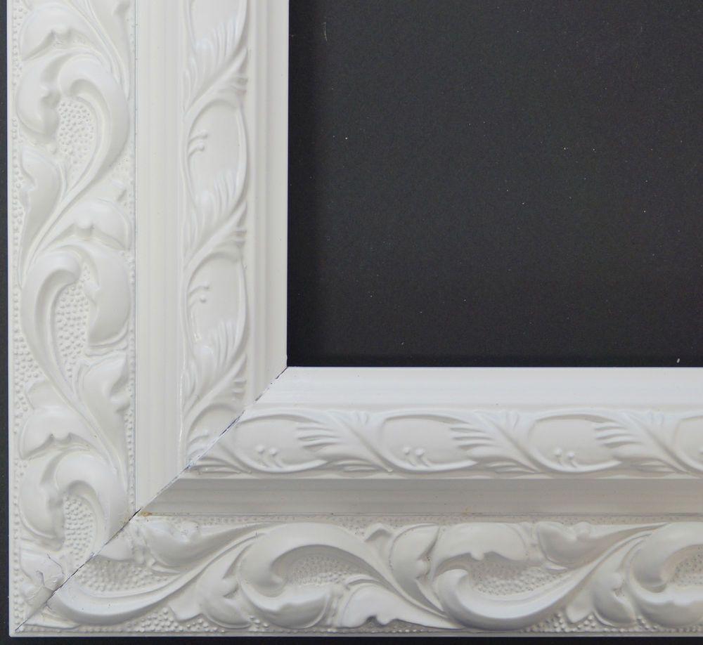Details zu Holz Bilderrahmen Rahmen Barock Antik Bild Basic Line ...