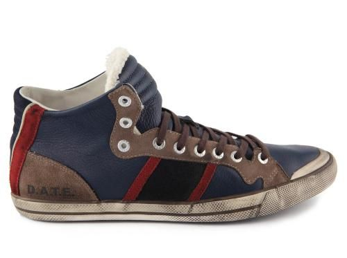STONE HIGH LEATHER NAVY