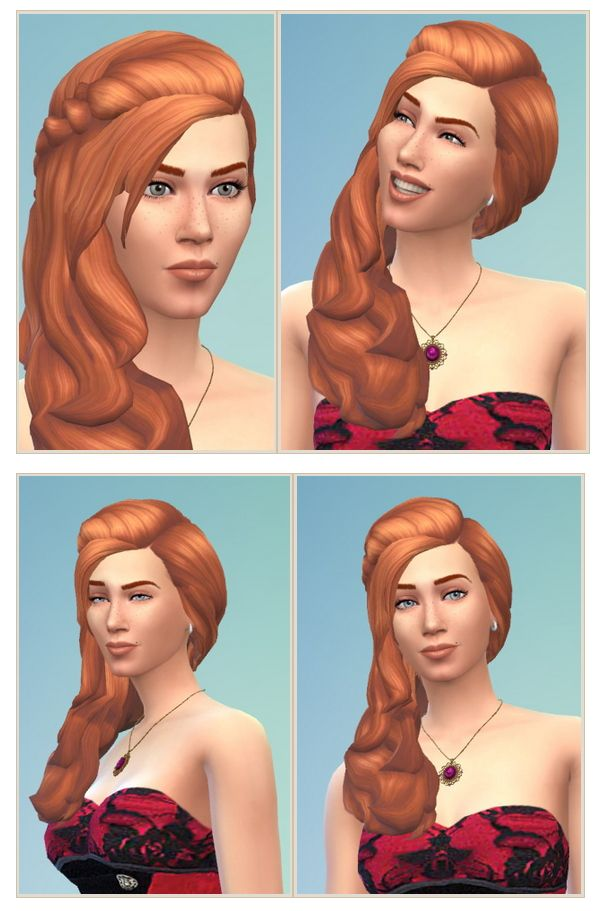 The Sims 4 Hairstyles Inspirational Jessica Hair At Birksches Sims