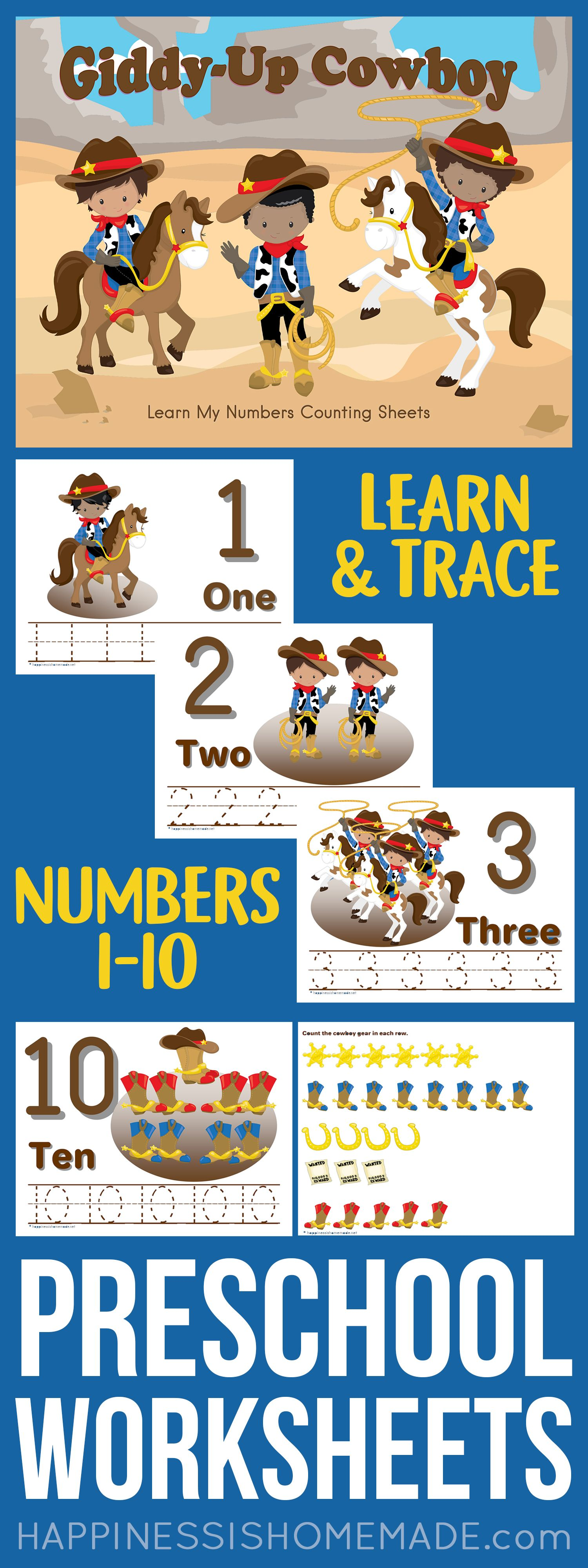 These Cute Free Printable Preschool Worksheets Are A Great