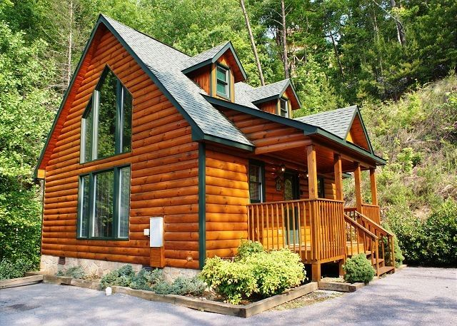 Gatlinburg TN · Bear Footinu0027 5 Is A Beautiful 1 Bedroom Chalet With An  Amazing View Of The