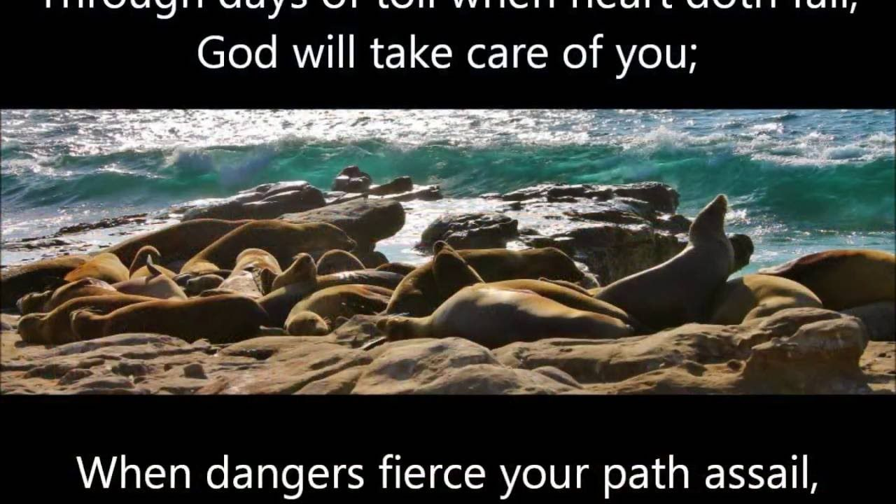 God will take care of you with lyrics take care of