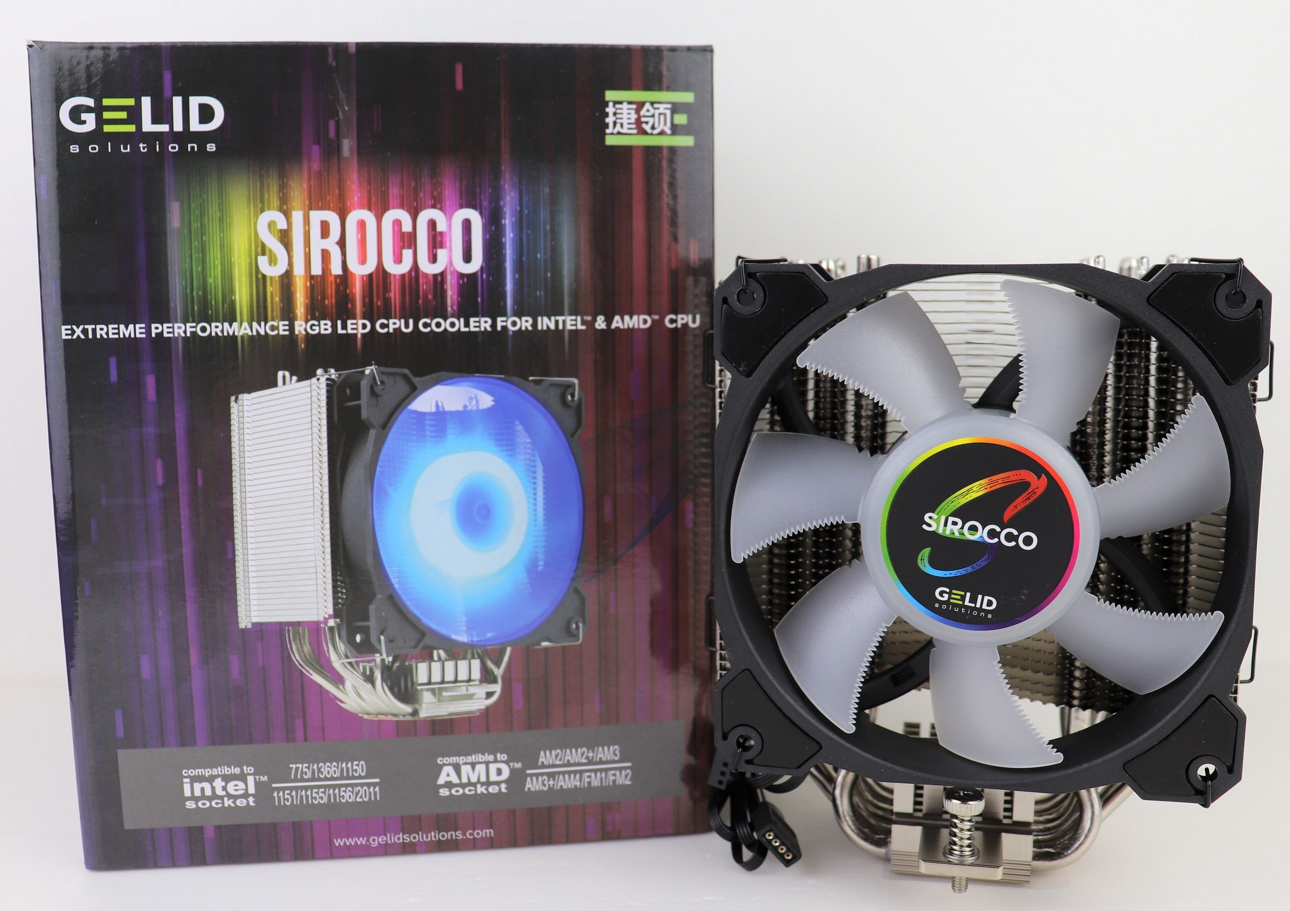 The Review Of Gelid Sirocco Cpu Cooler Is Up On Our Website Now Gelid Sirocco Radiant Rgb Cpu Cooler Pc Gaming Gamer Coolin Unboxing Cooler Rgb Led