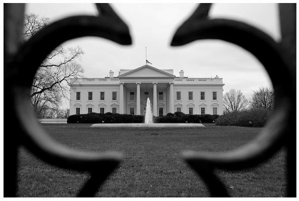 Washington The White House Composition Photography Framing Photography Color Of Life