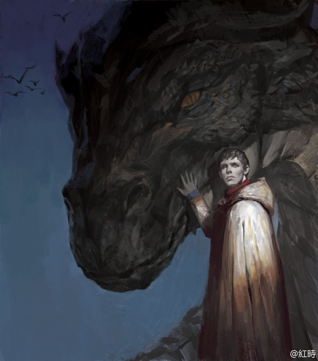 Merlin Dragon: Merlin - By: Elna