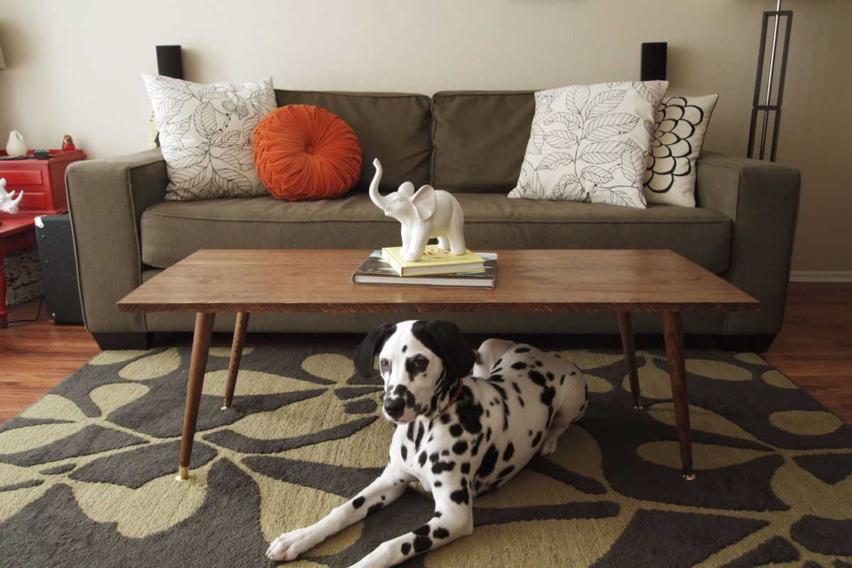 mid century modern coffee table. So, Here Are Some Midcentury Modern Living Room Designs For You. Window, One Can See The Surrounding From With Black And White Colors. Mid Century Coffee Table N