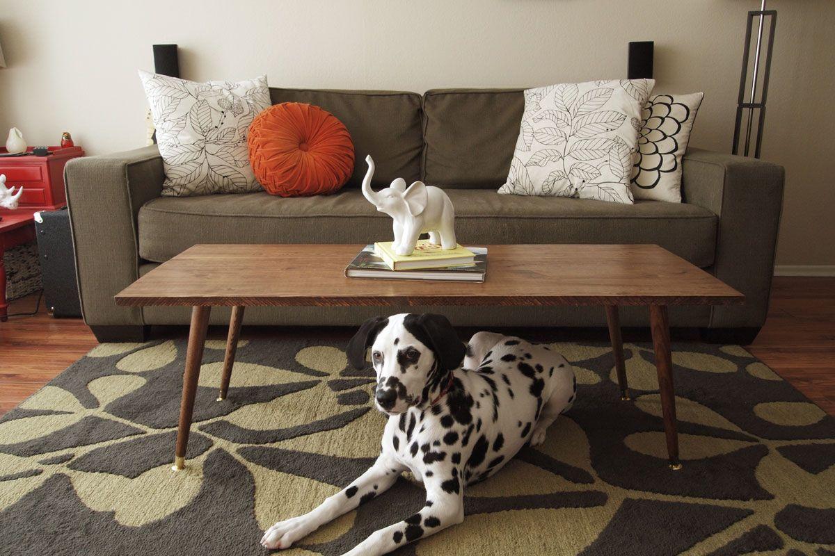 ON SALE Mid Century Modern Coffee Table, Mid Century Modern Furniture, Gold  Hairpin Legs, Reclaimed Wood Table | Room | Pinterest | Hairpin Legs, ...