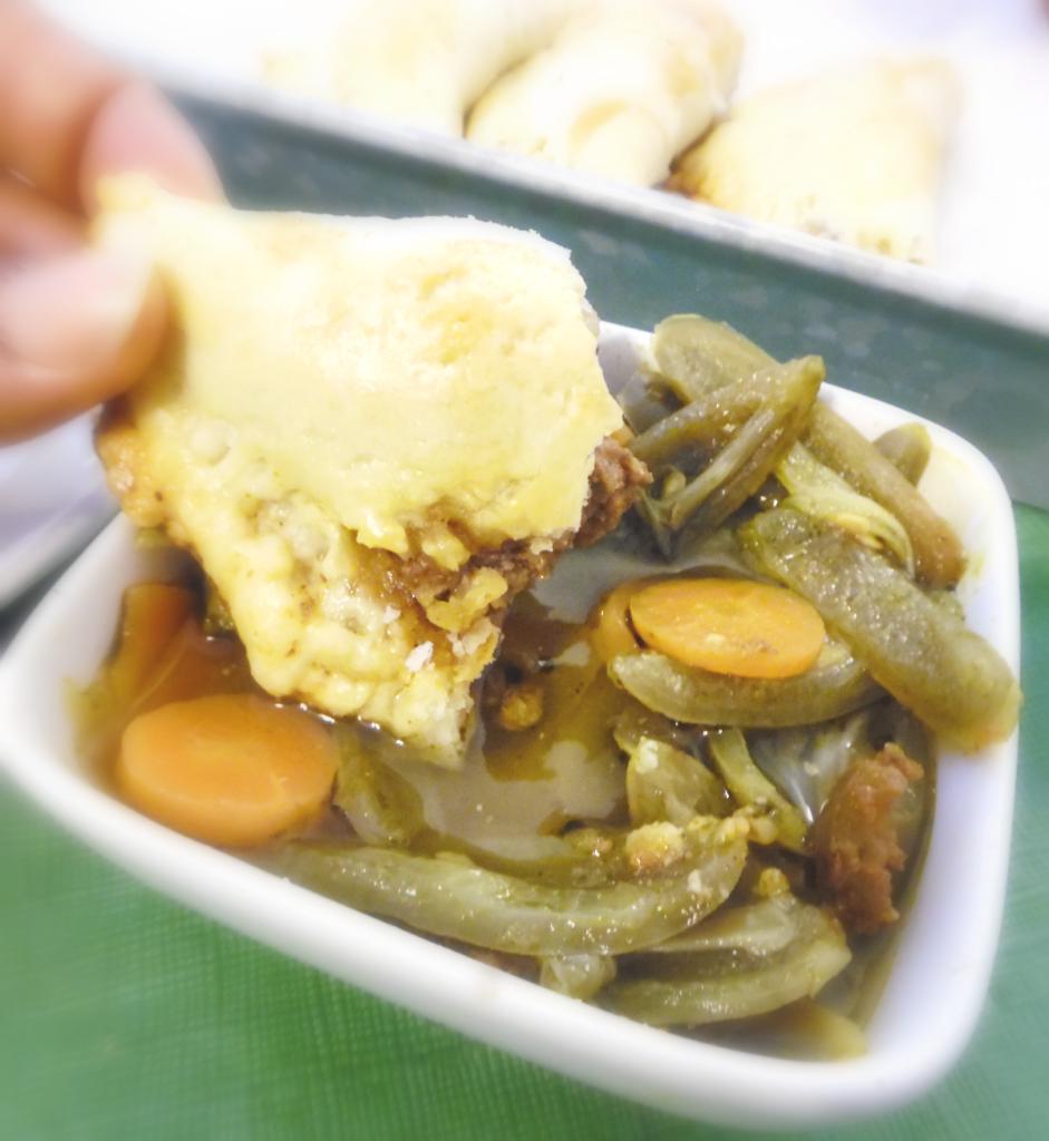 Beef empanadas, the perfect football food