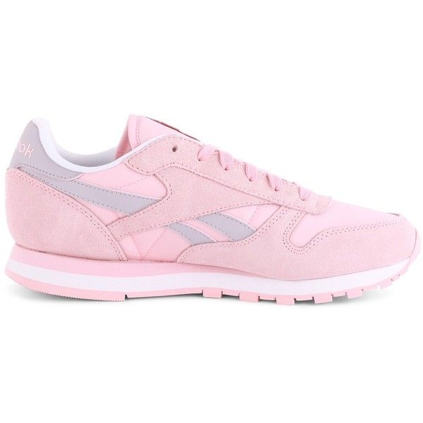 fd8ffba3752 Reebok Classic Leather Seasonal I Womens Trainers in Light Pink ...
