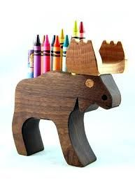 image result for wooden crayon holder porta caneta pinterest