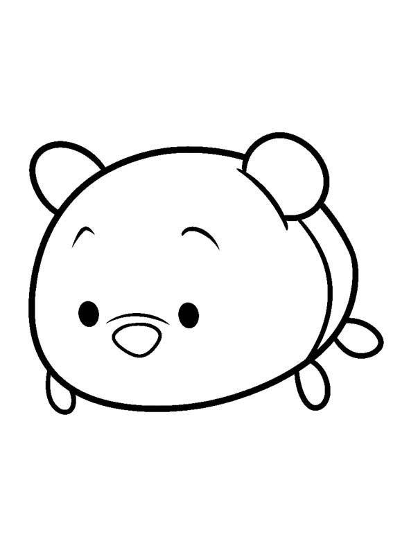 Disney Tsum Tsum Para Colorear Winnie Pooh Tsum Tsum Disney