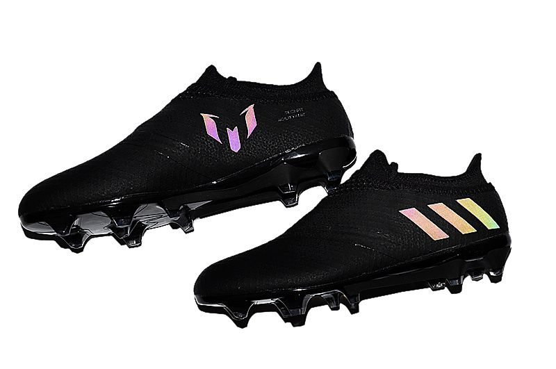 Dark Space Pack Blackout Adidas Messi 16+ PureAgility 2016-2017 Football  Boots 37b5ff002fe18