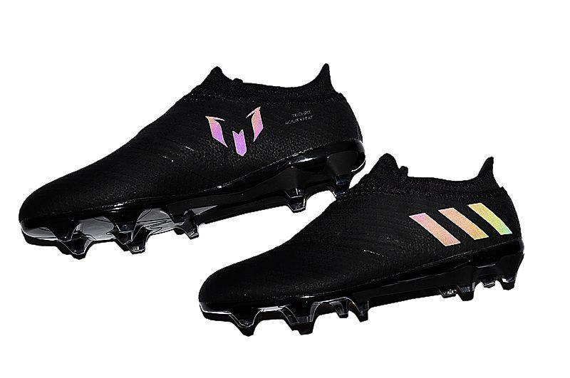f333edc6e ... dark space pack blackout adidas messi 16+ pureagility 2016 2017 football  boots https