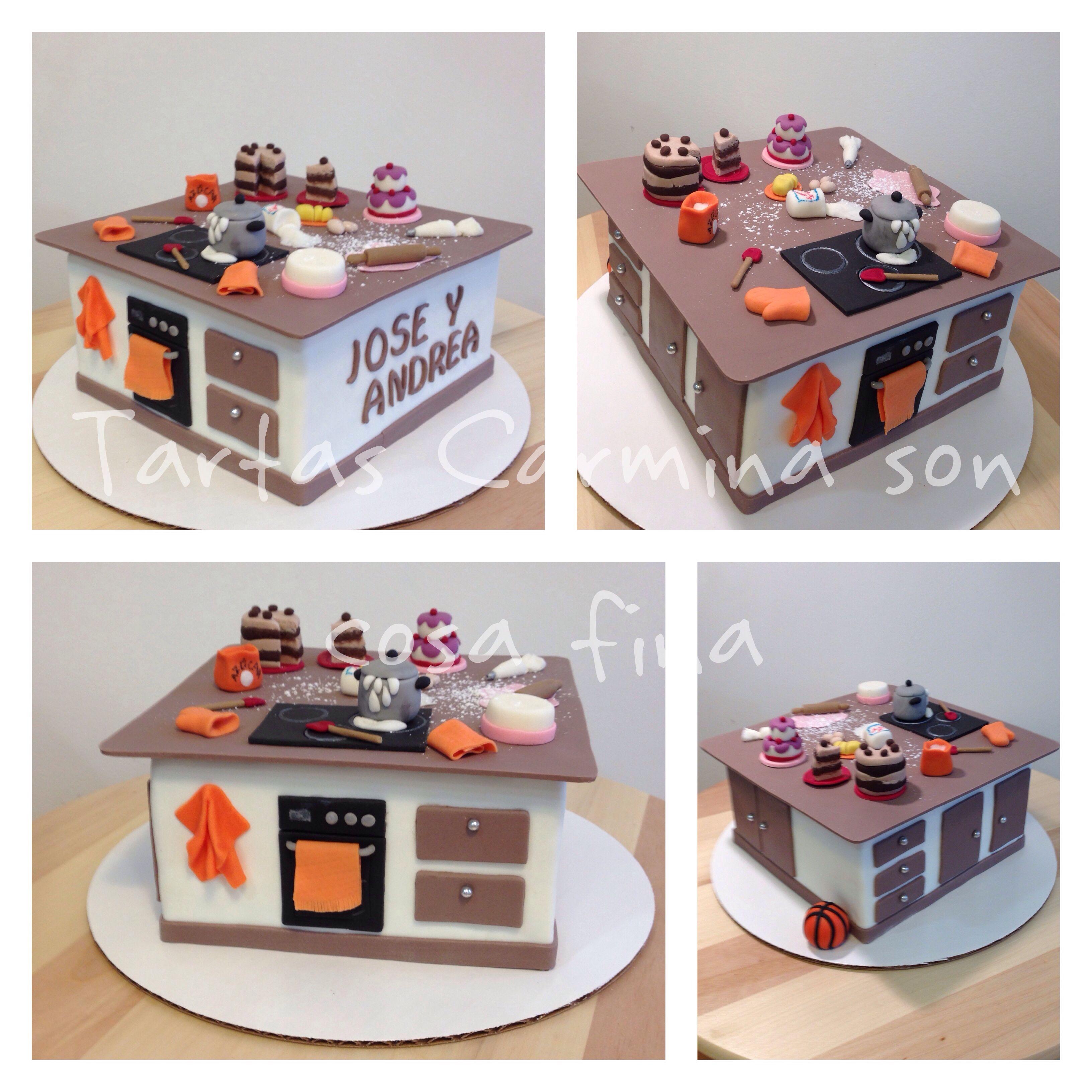 Kitchen Design Cake: Tartas Carmina Son Cosa Fina