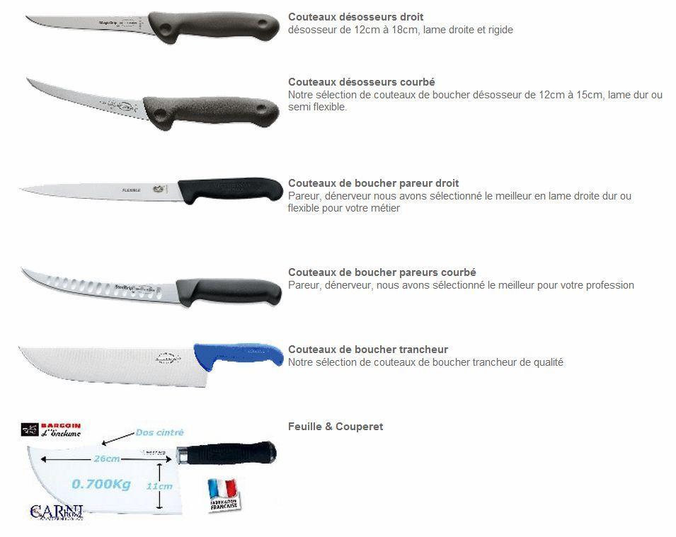 Sogests Couteaux De Boucher Couteau De Cuisine Professionnel