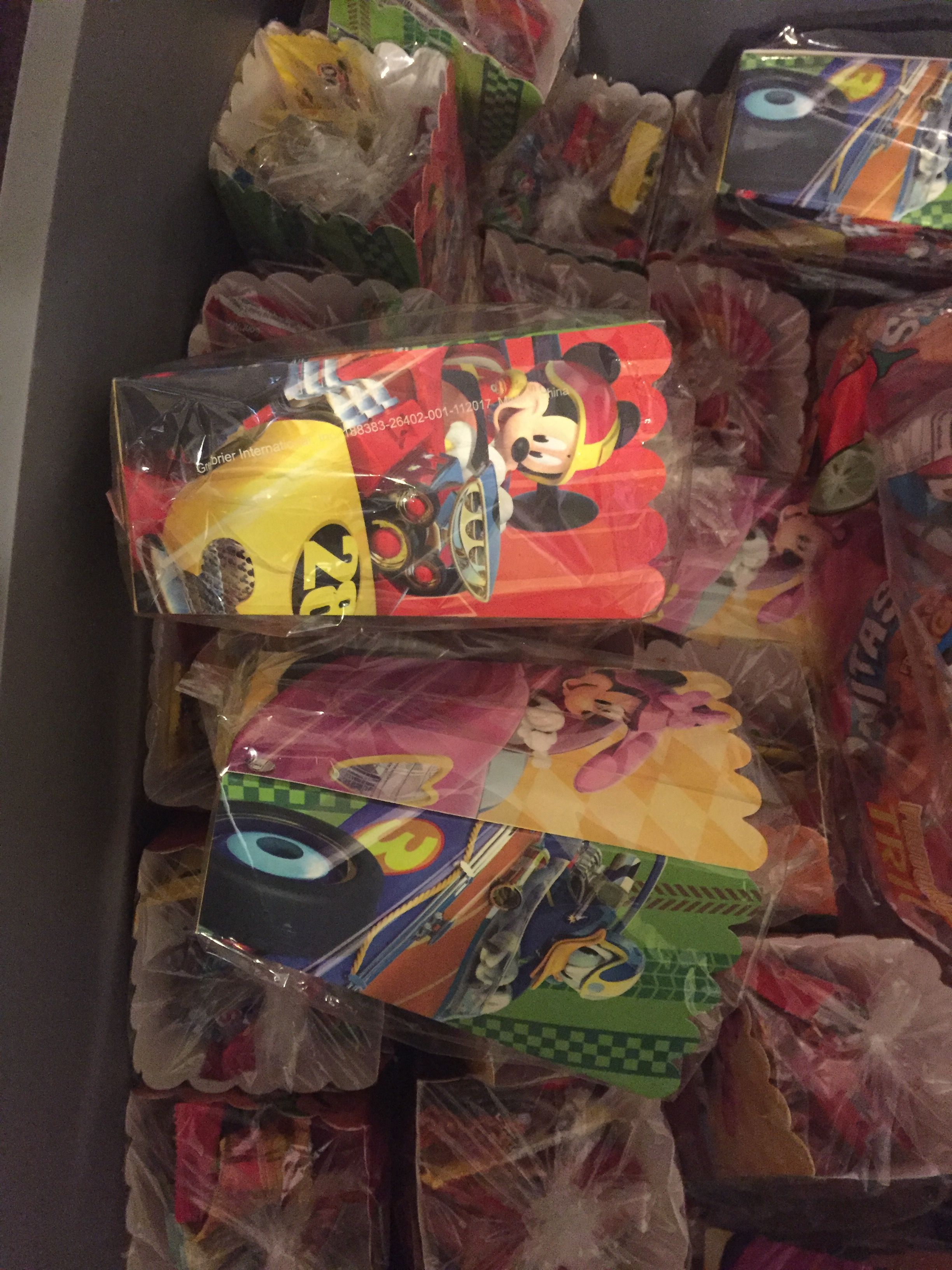 Treat Boxes Used As Candy Bags Four Pack Sold At Dollar Tree
