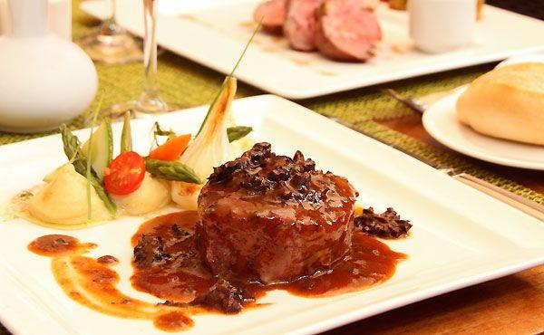 Recetas receta filete de res en salsa de morillas de for Platillos franceses faciles
