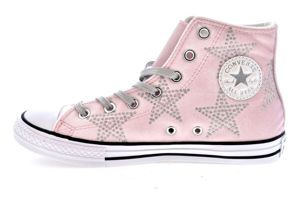2converse all star rosa alte