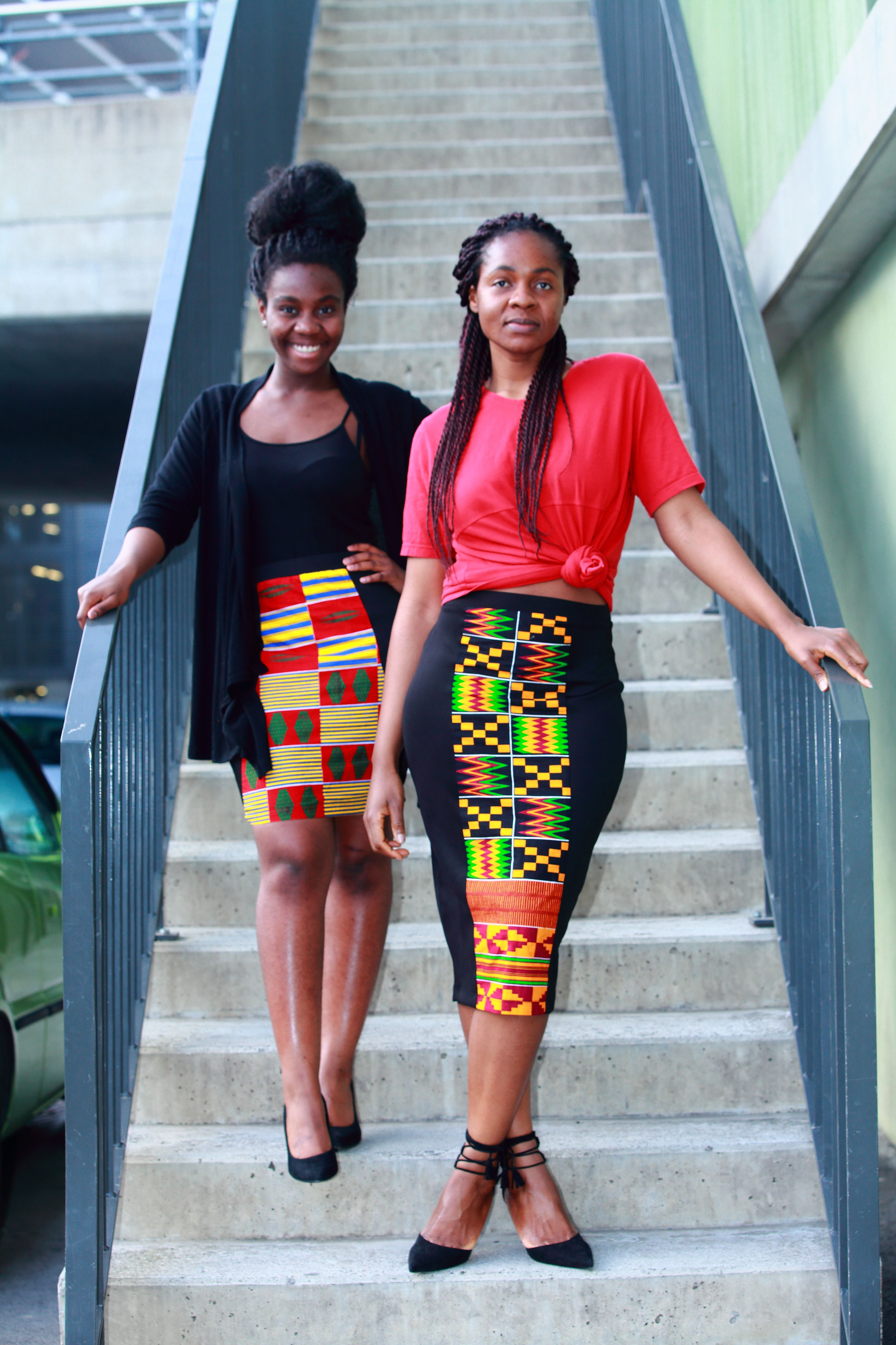 Nigerian fashion styles for women - Kente Skirt Latest African Fashion African Prints African Fashion Styles African Clothing