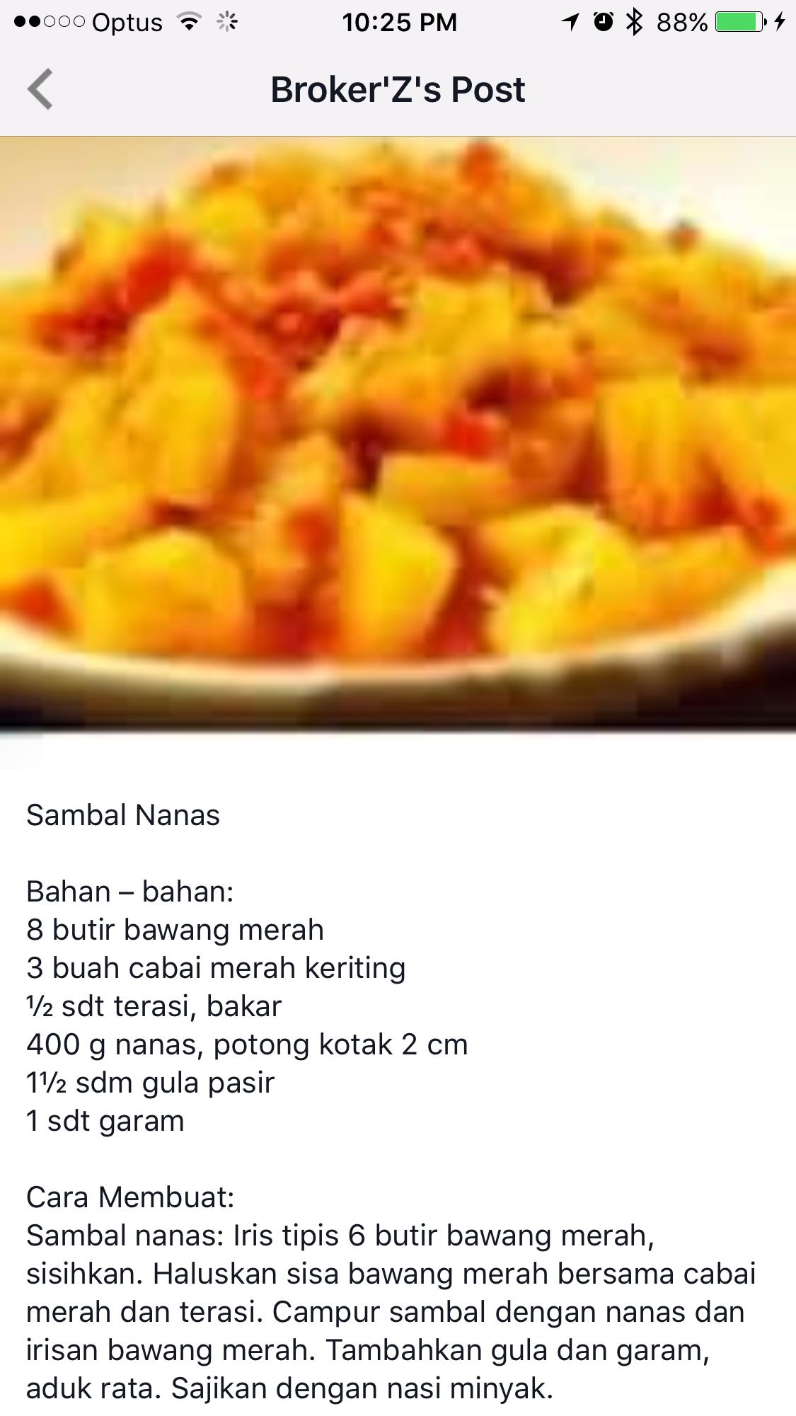 Pin Oleh Bhi Bhie Di Resep Aneka Sambal Resep Masakan Makanan Makanan Dan Minuman