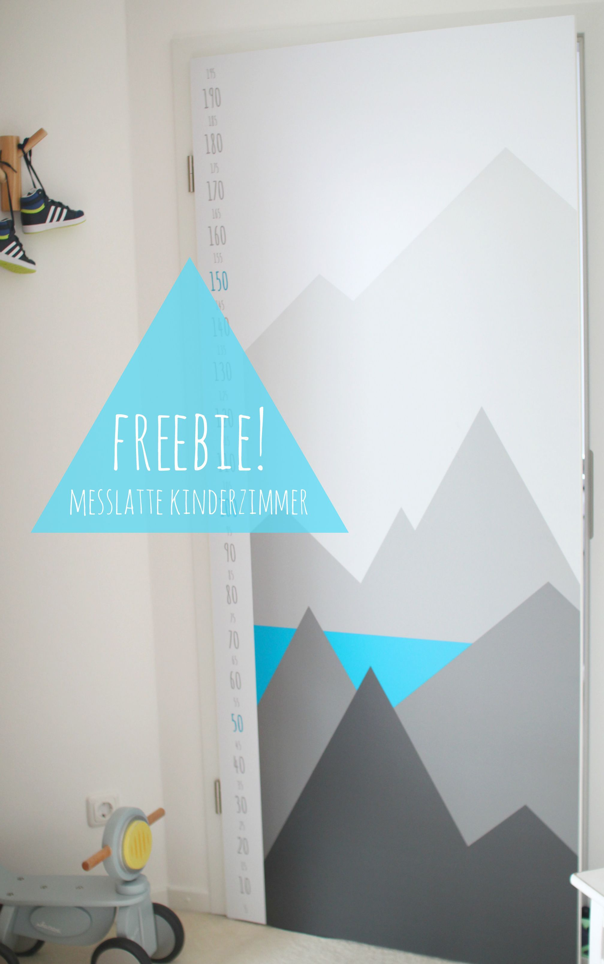 Marvelous Freebie: Messlatte Für Kinder   Zimmertür Mit Folie Bekleben (Werbung