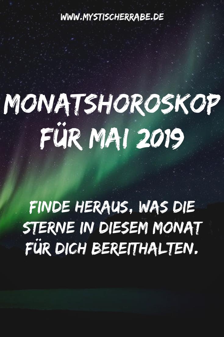 Monatshoroskop Fur Mai 2019 Monatshoroskop Horoskop Sternzeichen