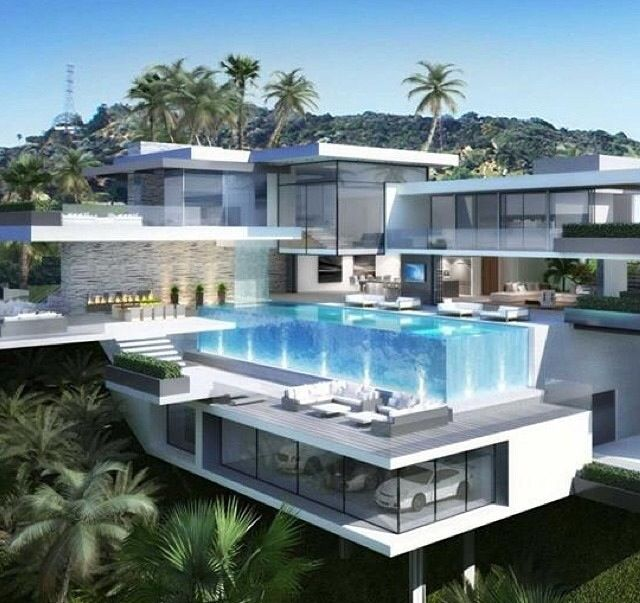 Dream Homes In Los Angeles Mansions: Modern Mansion, Mansion