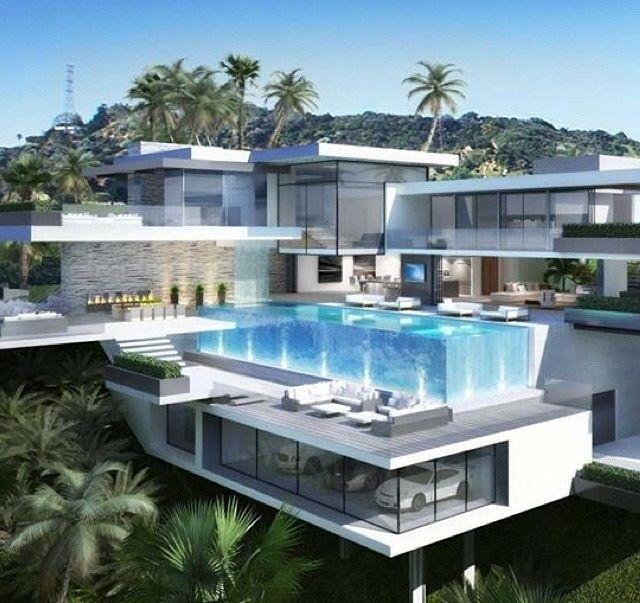 Dream Homes Los Angeles: Modern Mansion, Mansion