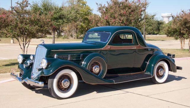 1935 Pierce Arrow Coupe Pierce Arrow Motor Car Company Buffalo New York 1901 1938 Vintage Cars Cars Retro Cars