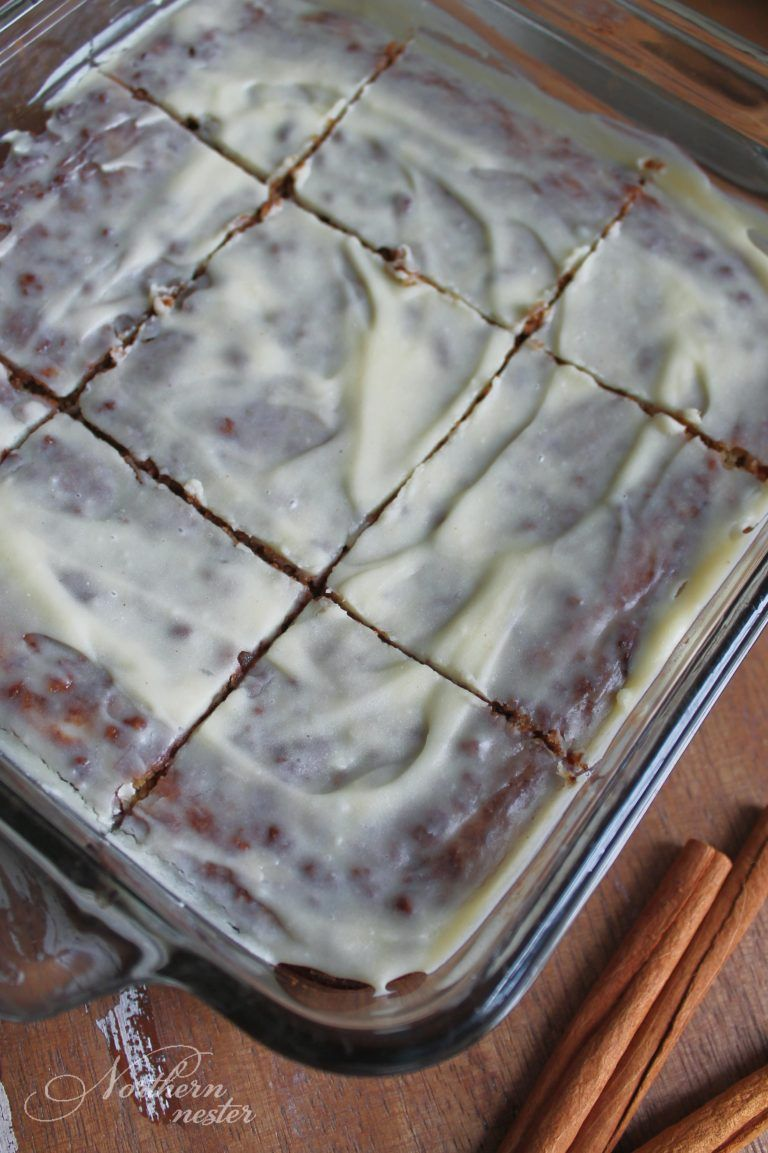 Cinnamon Roll Cake | THM: S, Low-Carb, Gluten-Free #rollcake