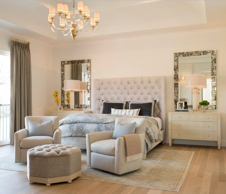70 Primary Bedrooms With Sitting Areas Sofa Chairs Chaise Lounge Bedroom Design Mediterranean Bedroom Bedroom With Sitting Area