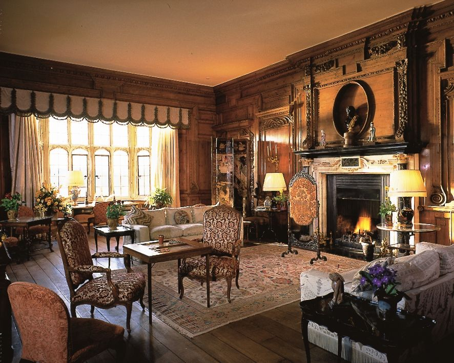 Thorpe Hall Drawing Room At Leeds Castle Maidstone Kent England