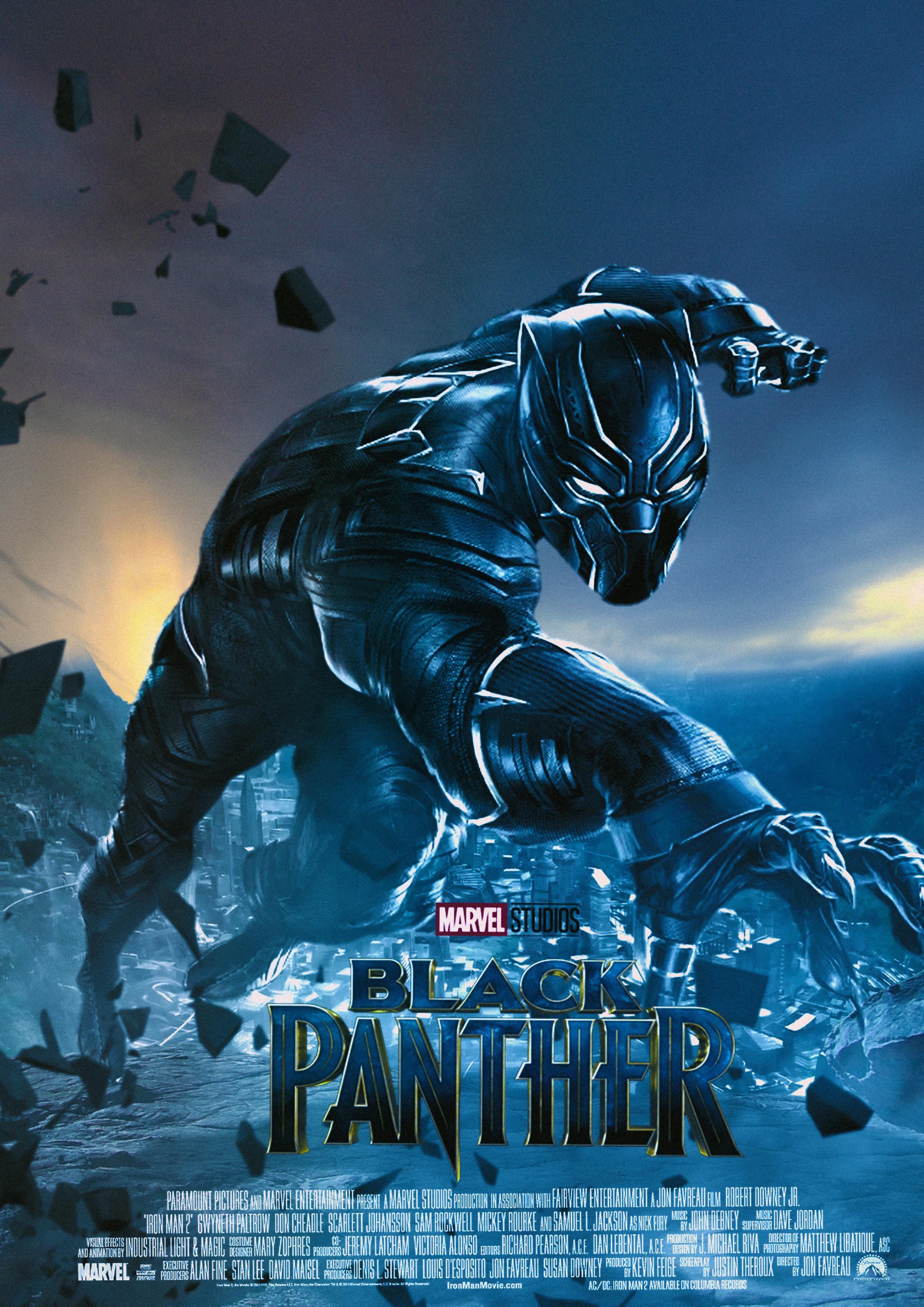 flashback Fridays My Black Panther poster