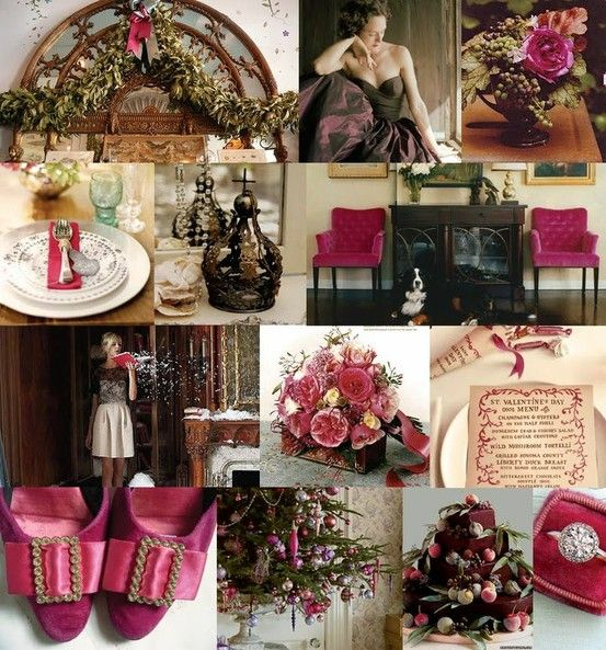 Alternative Christmas Wedding Palettes ~ Wedding High Blissfully