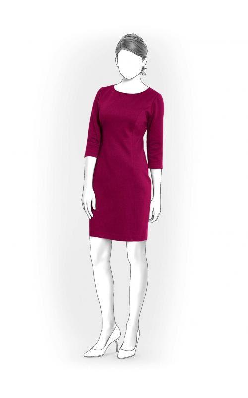 Lekala 5957 Kleid PDF Muster Nähmuster PDF von Lekala auf Etsy ...