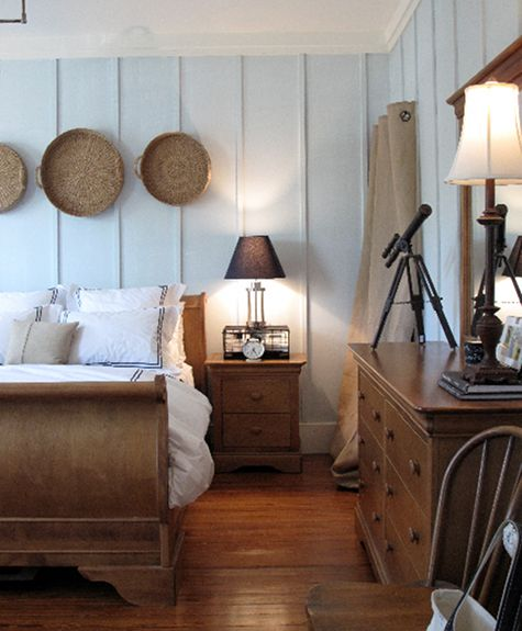 Neutral Color Schemes For Bedrooms: Love The Achromatic Color Scheme With Neutral Wood Tones