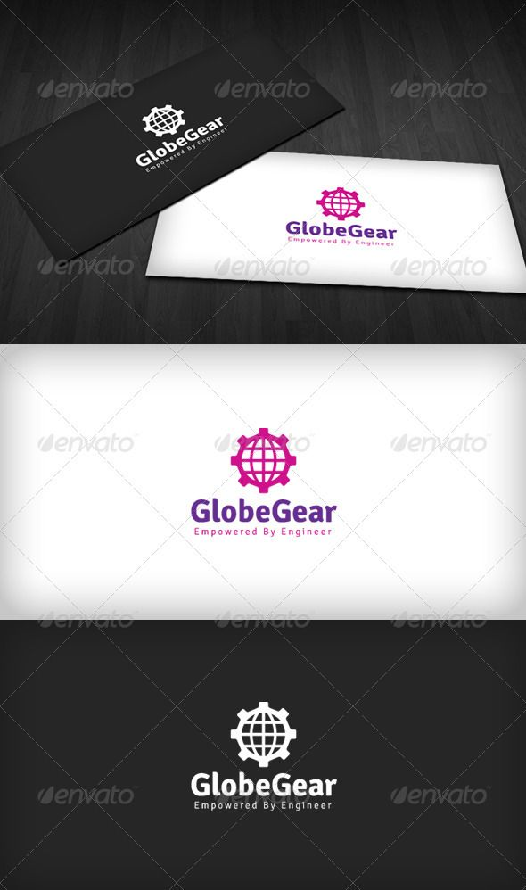 World Gear Logo  #GraphicRiver         World Gear Logo is a designed for Any types of companies. It is made by simple shapes Although looks very professional. The final file includes 3 variations of the Logo.  Featured:   Unique Slogan  AI CS3 Document  EPS CS Document  CMYK – 100 % Vector (Re-sizable)  3 Variations (Color, B/W & Inverts)    The free fonts used in the design are: Signika  Which can be downloaded here -  .google /webfonts/specimen/Signika     Created: 30July12…
